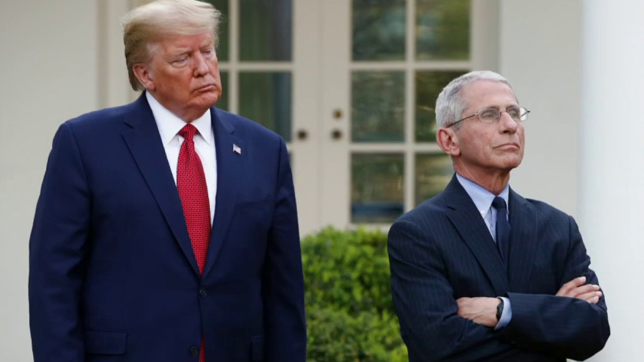Trump claims he has 'very excellent relationship' with Fauci following White Property official criticizes physician