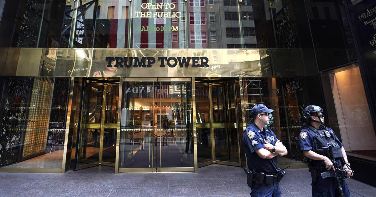 Trump says NYC painting 'Black Lives Matter' in front of Trump Tower is a 'symbol of hate'
