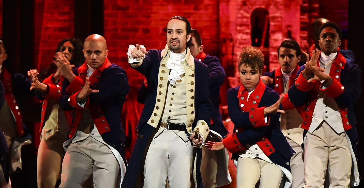 Watch Hamilton on Disney Plus right now. Sorry, you can't stream with a free trial
