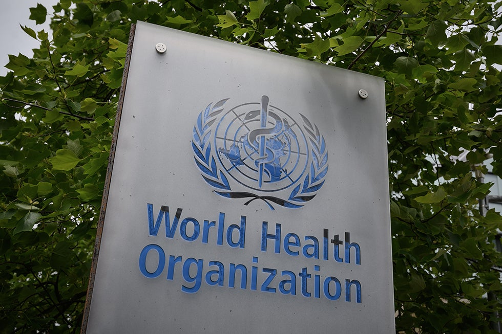 WHO stories document complete of new coronavirus conditions globally