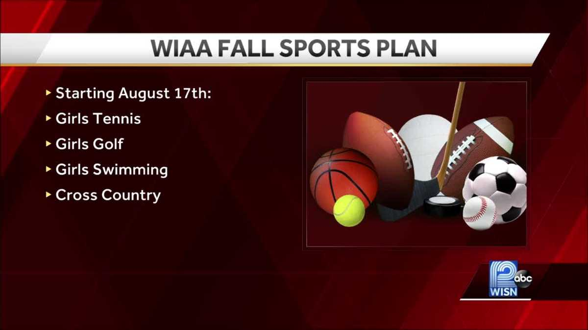 WIAA sets commence dates for slide substantial university sports activities