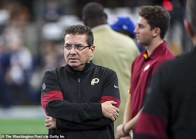 Redskins owner Dan Snyder has ignored pleas from Native American groups who believe the name and logo are racist, and as NFL commissioner Roger Goodell told ESPN Radio in 2018, 'I don't see him changing that perspective.' Now, however, Snyder says he is seeking input on a potential name change from team 'alumni, the organization, sponsors, the National Football League and the local community'