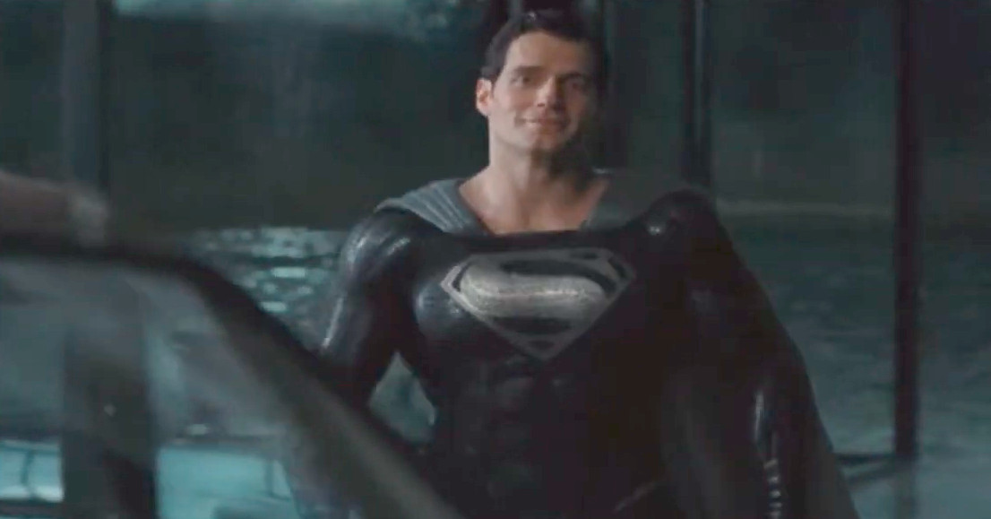 Zack Snyder releases black suit Superman scene from Justice League cut