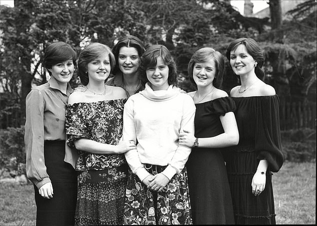 The sisters, who formed part of Irish pop group The Nolans, endured a round of chemotherapy together at Blackpool's Victoria Hospital last month after receiving the devastating diagnoses. Pictured:Denise, Linda, Anne, Colleen, Bernadette and Maureen Nolan