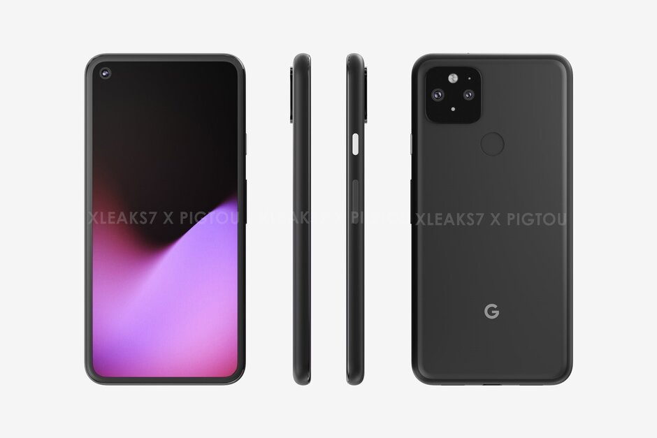 The Google Pixel 5 - Google Pixel 5G lineup: Pixel 5 officially coming this fall with $499 Pixel 4a (5G)