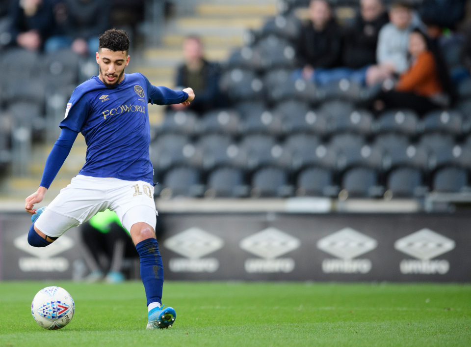 Benrahma grabbed a hat-trick at Hull this season to prove his goalscoring prowess