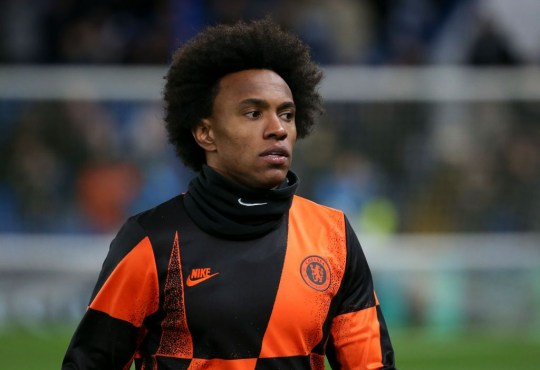 Chelsea exit 'edging closer' for Willian as Arsenal talks continue