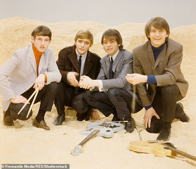 Success:The rocker (right) found fame in 1964 when he and his band, the Mindbenders, had hits like Game of Love - a US number one - and Um, Um, Um, Um, Um, Um
