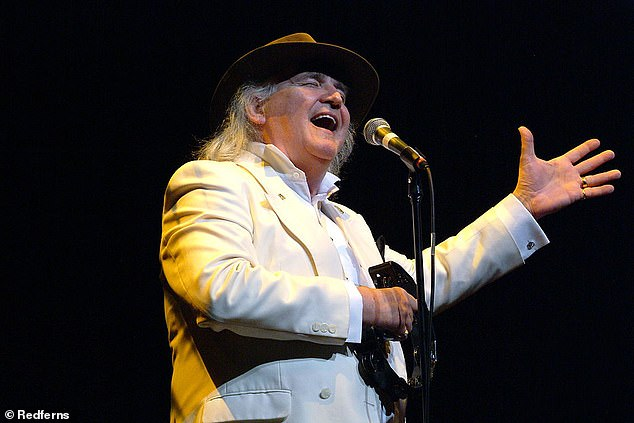 Way back when:Game Of Love singer Wayne Fontana has passed away aged 74 (pictured in 2008)