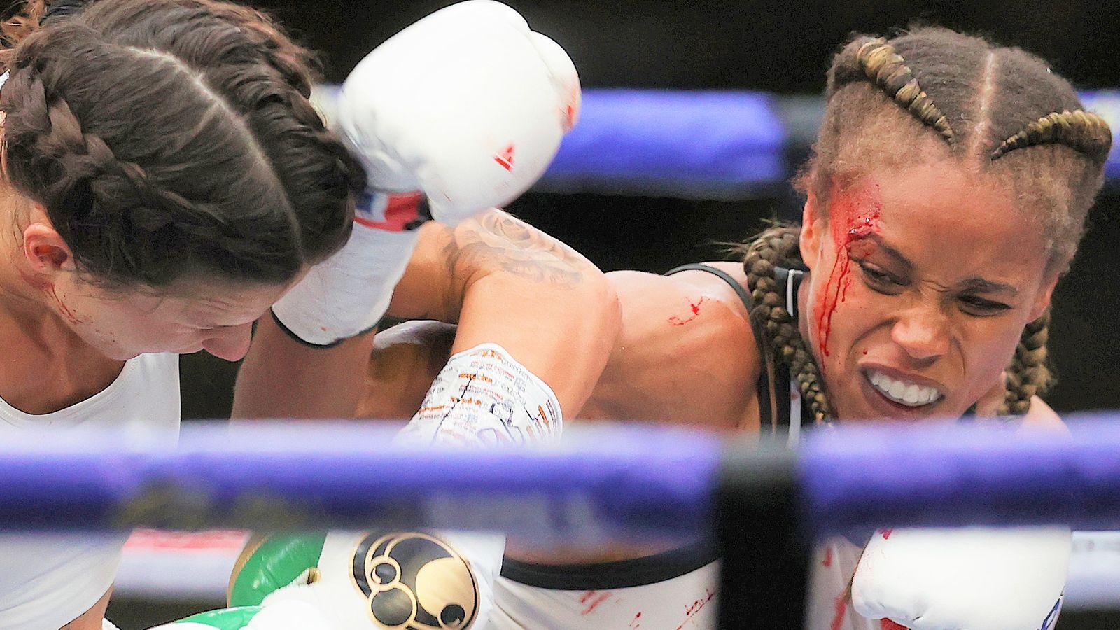 Harper vs Jonas: Terri Harper retains WBC title after split decision draw with Natasha Jonas   Boxing News