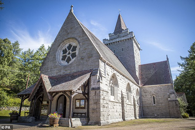 Crathie Kirk where the Queen usually attends Sunday Service during her summer break at Balmoral