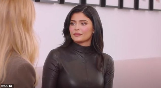 They respect each other:When asked about Kim's KKW Beauty line, Jenner said: 'All Kim's brands are amazing.' The mother to Stormi Webster added, 'She'll use mine, I use hers, but how we create our makeup and how we run our businesses is very separate and then we come together if we need advice'