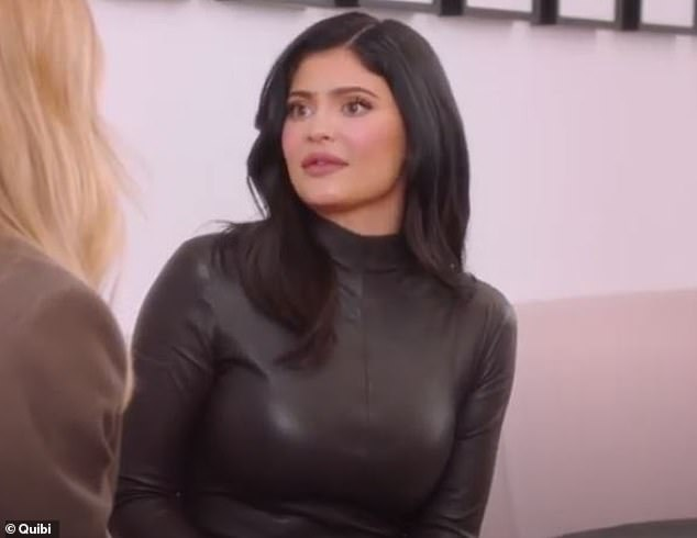 Tight family:Kylie Jenner told host Rosie Huntington-Whiteley during an appearance on the Quibi premiere of About Face that she has asked the wife of Kanye West for advice before, and Kim has come to Kylie as well