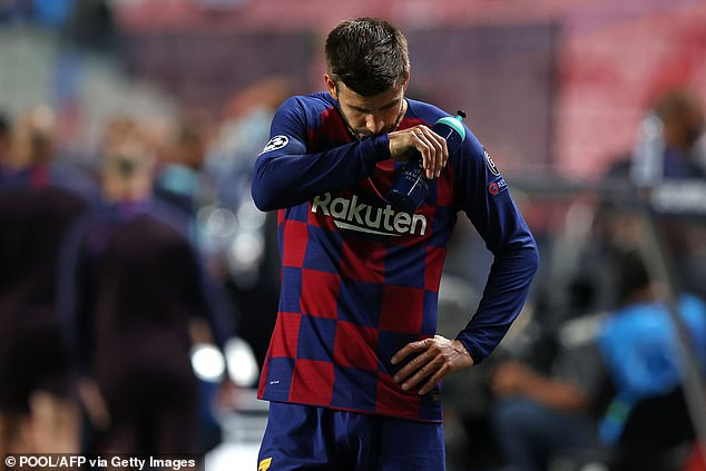 His list of players who wouldn't be sold did not include that of club legend Gerard Pique