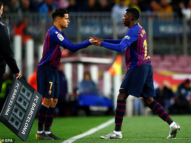 Surprisingly big money flops Phillipe Coutinho and Ousmane Dembele could end up staying