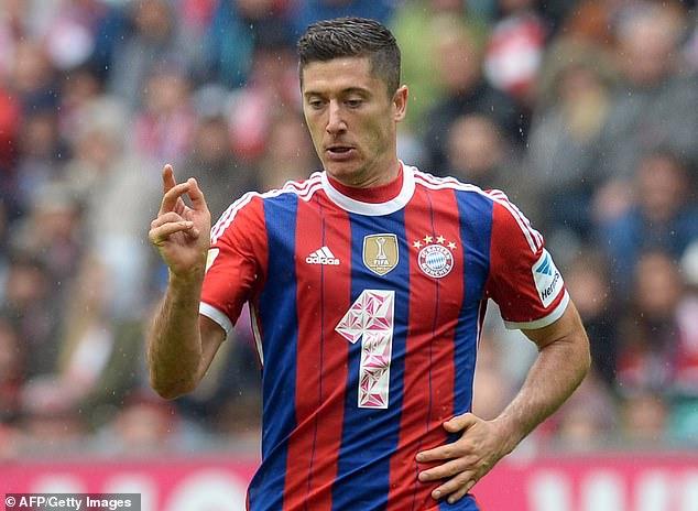 Bayern Munich striker Robert Lewandowski was a target but proved too difficult to sign