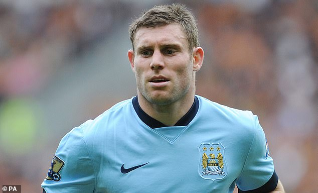 James Milner, then at rivals Manchester City, was also looked at by the Dutch manager