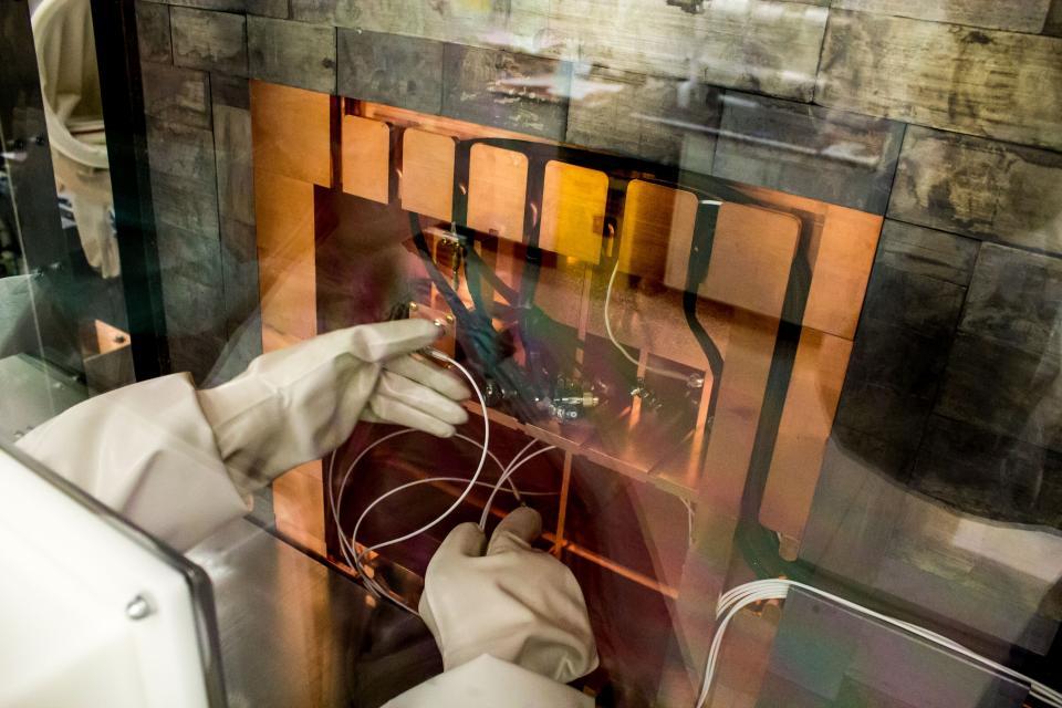 Shallow Underground Lab ultra-low radiation detection