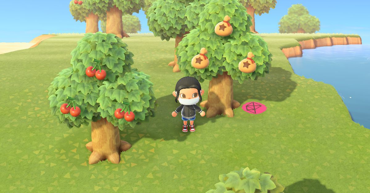 Animal Crossing: New Horizons patch gets rid of star fragment trees