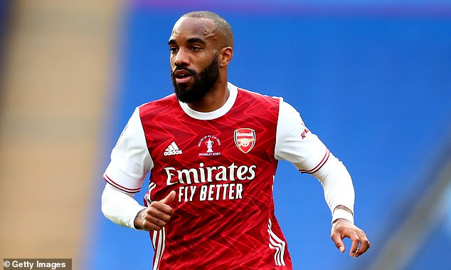Arsenal forward Alexandre Lacazette is set to move to Atletico Madrid for £30m this summer