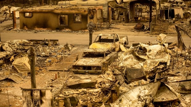 At minimum 5 people today killed in Northern California wildfires