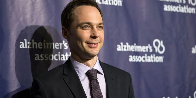 Actor Jim Parsons was honored at the 2018 GLAAD Media Awards.