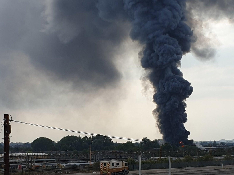 Birmingham fire: Huge blaze breaks out at Tyseley industrial estate