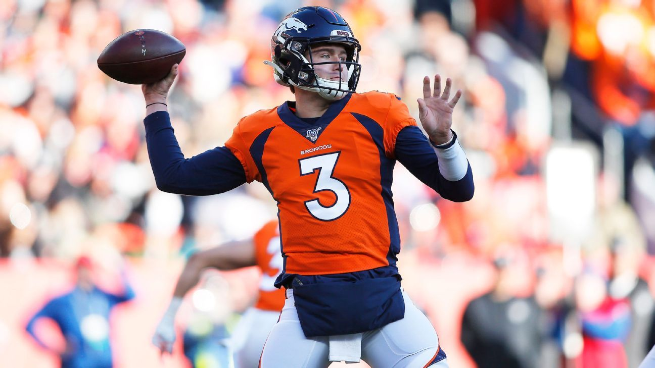 Broncos QB Drew Lock would not temper anticipations in spite of no offseason workouts
