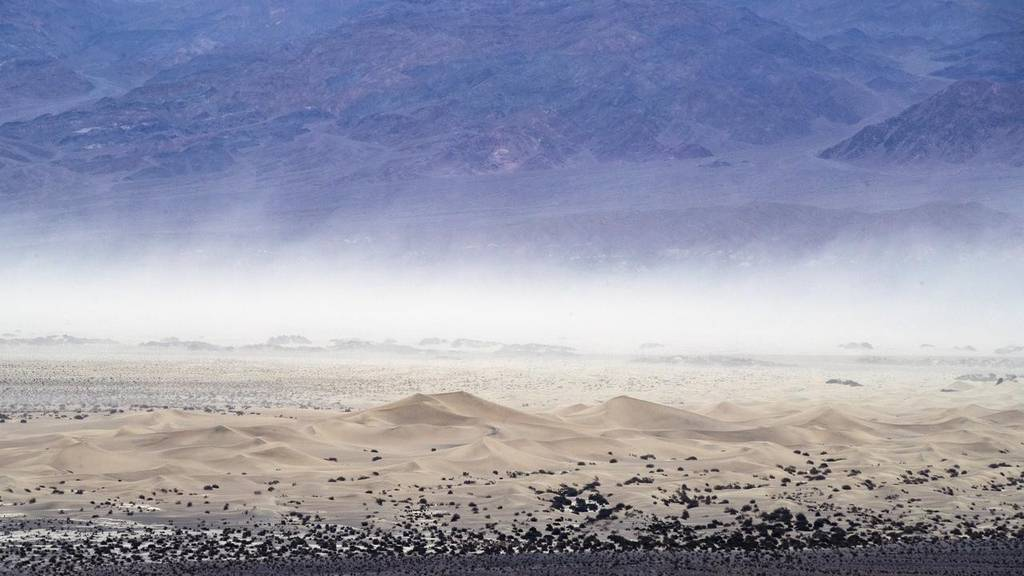 Death Valley California just recorded hottest temperature on record at 54.4 degrees