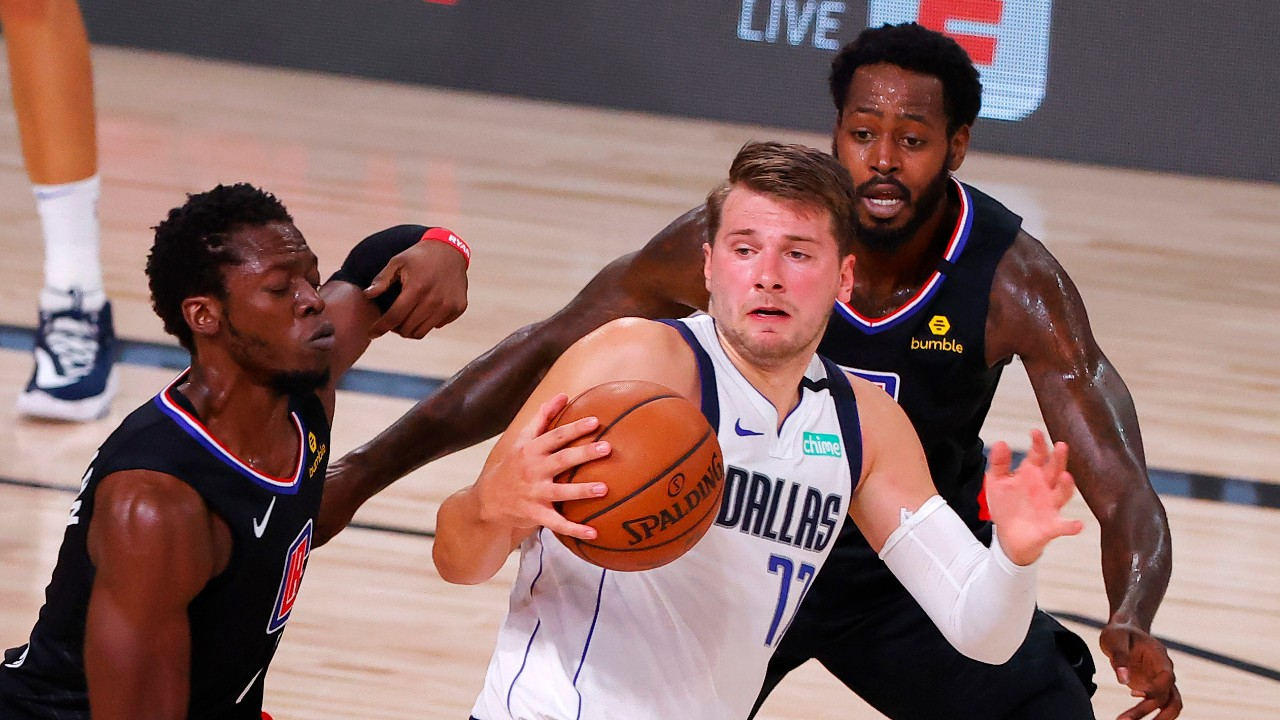 Doncic can make history but Mavericks slide to Clippers following Porzingis ejection