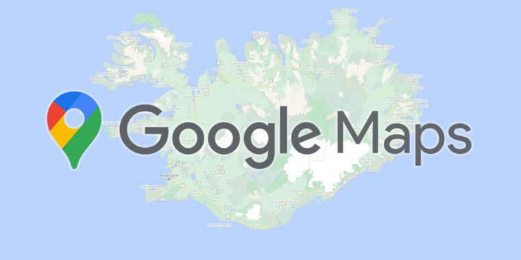 """Google Maps gets """"more detailed, colorful map"""""""