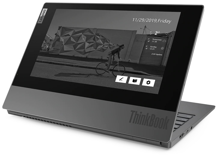 Lenovo Releases Laptop With E-Ink Display Cover – channelnews