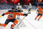 McDavid scores his first NHL postseason hat trick for Oilers in Game 2