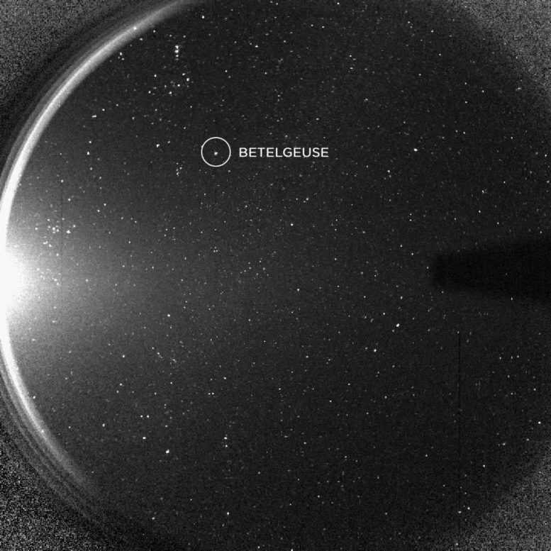 NASA STEREO Spacecraft's Lone See of Betelgeuse Reveals More Bizarre Conduct – Is Supernova Imminent?