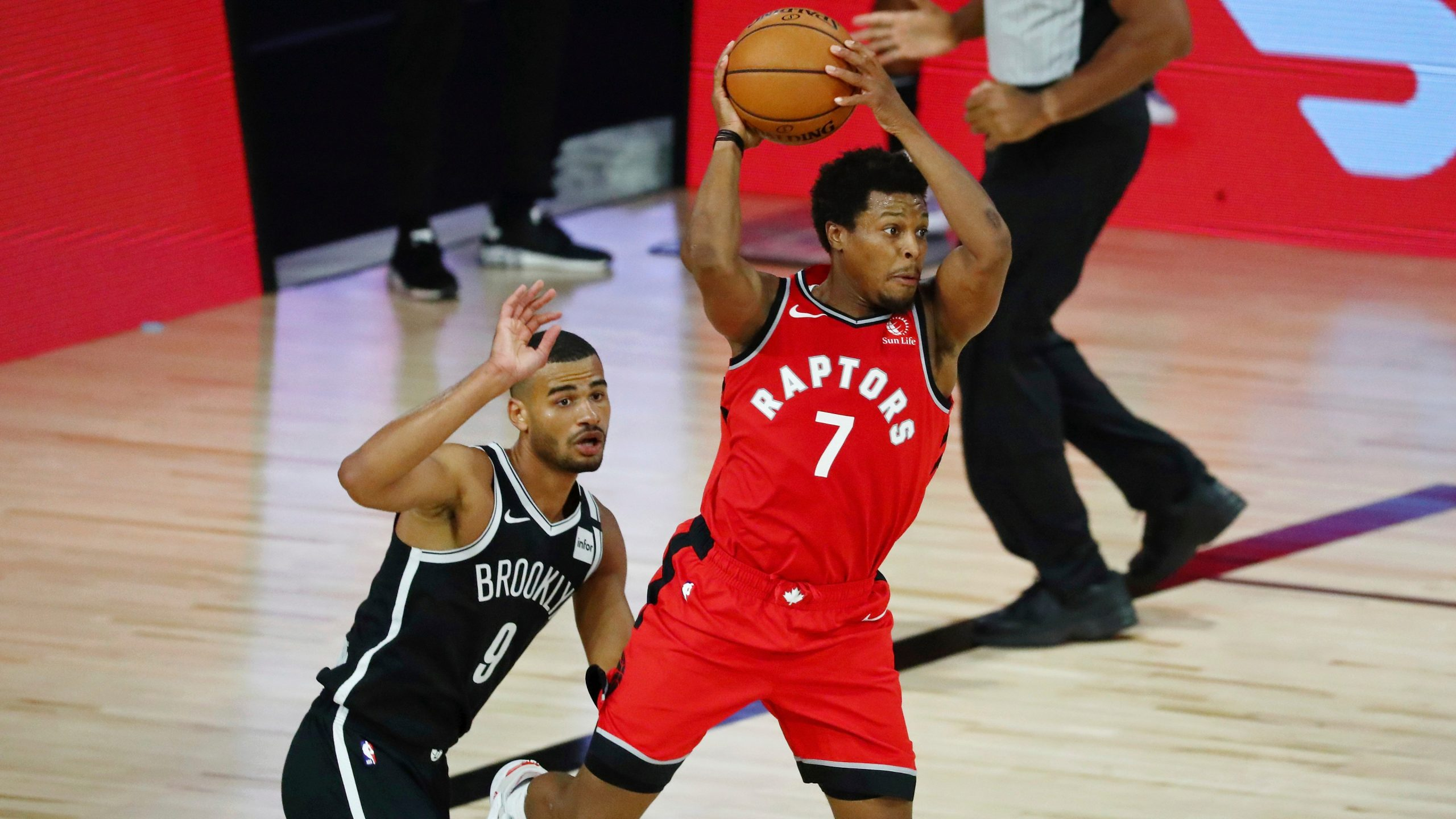 Raptors' Kyle Lowry will not return to Match 4 vs. Nets because of to injury