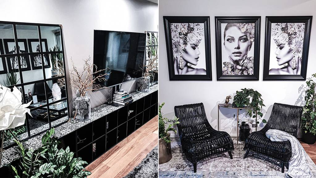 Renter turns to Kmart and Bunnings for incredible home makeover on a budget