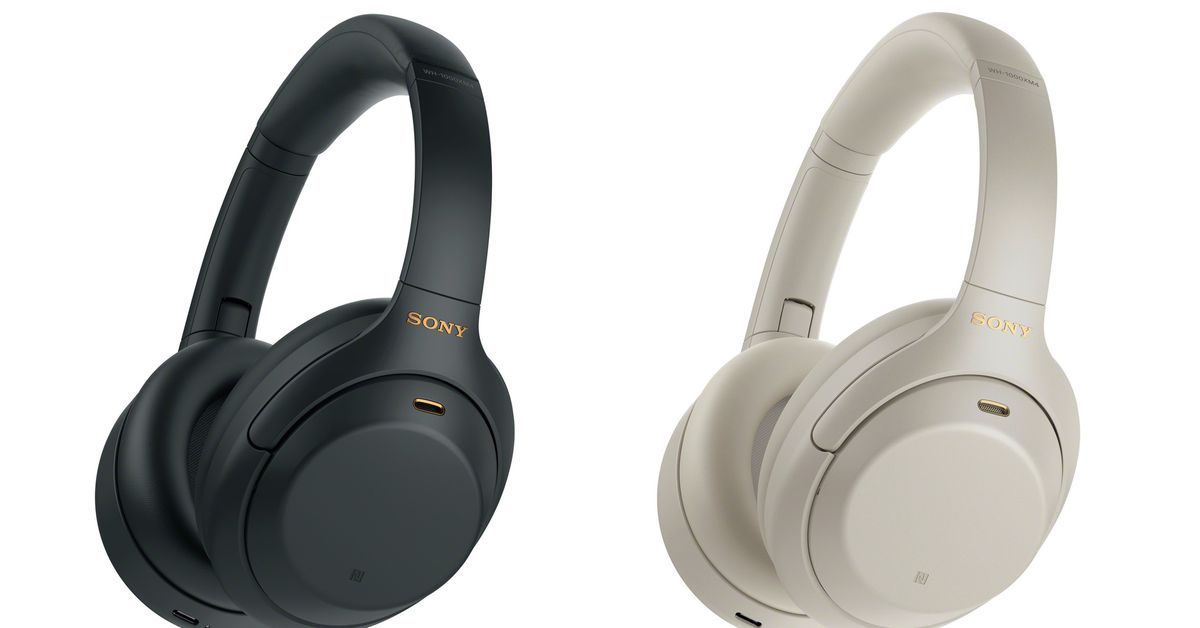 Sony's new 1000XM4 headphones have enhanced noise cancellation and can pair with two devices at at the time