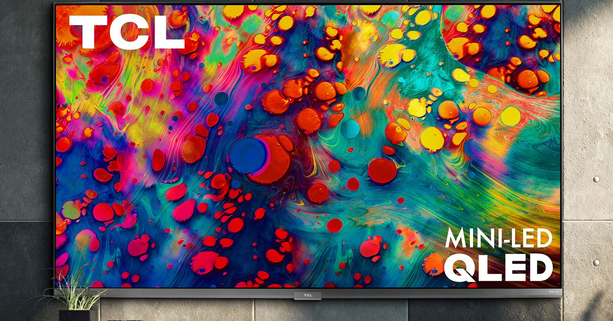 TCL's new $650 6-series 4K TV has Mini-LED backlighting and supports 120Hz gaming