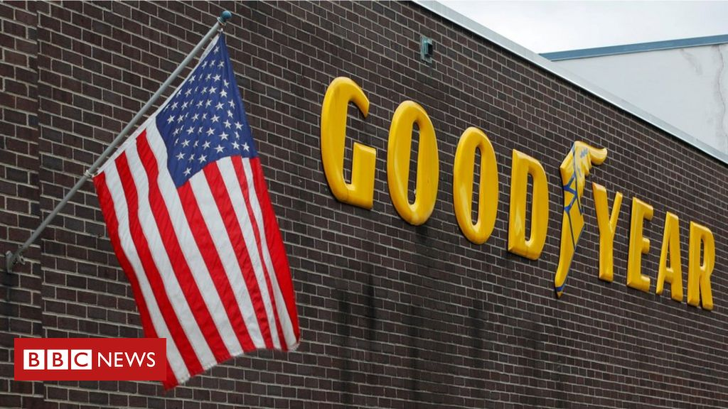 Trump attacks Goodyear for marketing campaign clothing ban