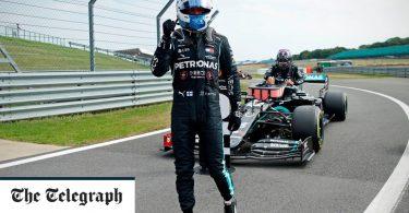 Valtteri Bottas pips Lewis Hamilton to 70th Anniversary Grand Prix pole in thrilling qualifying session