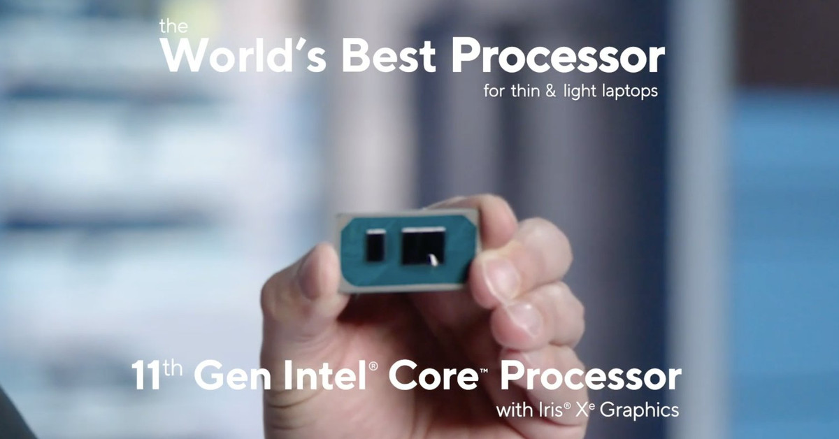 Intel announced the 11th generation of Tiger Lake CPUs, available on laptops this fall