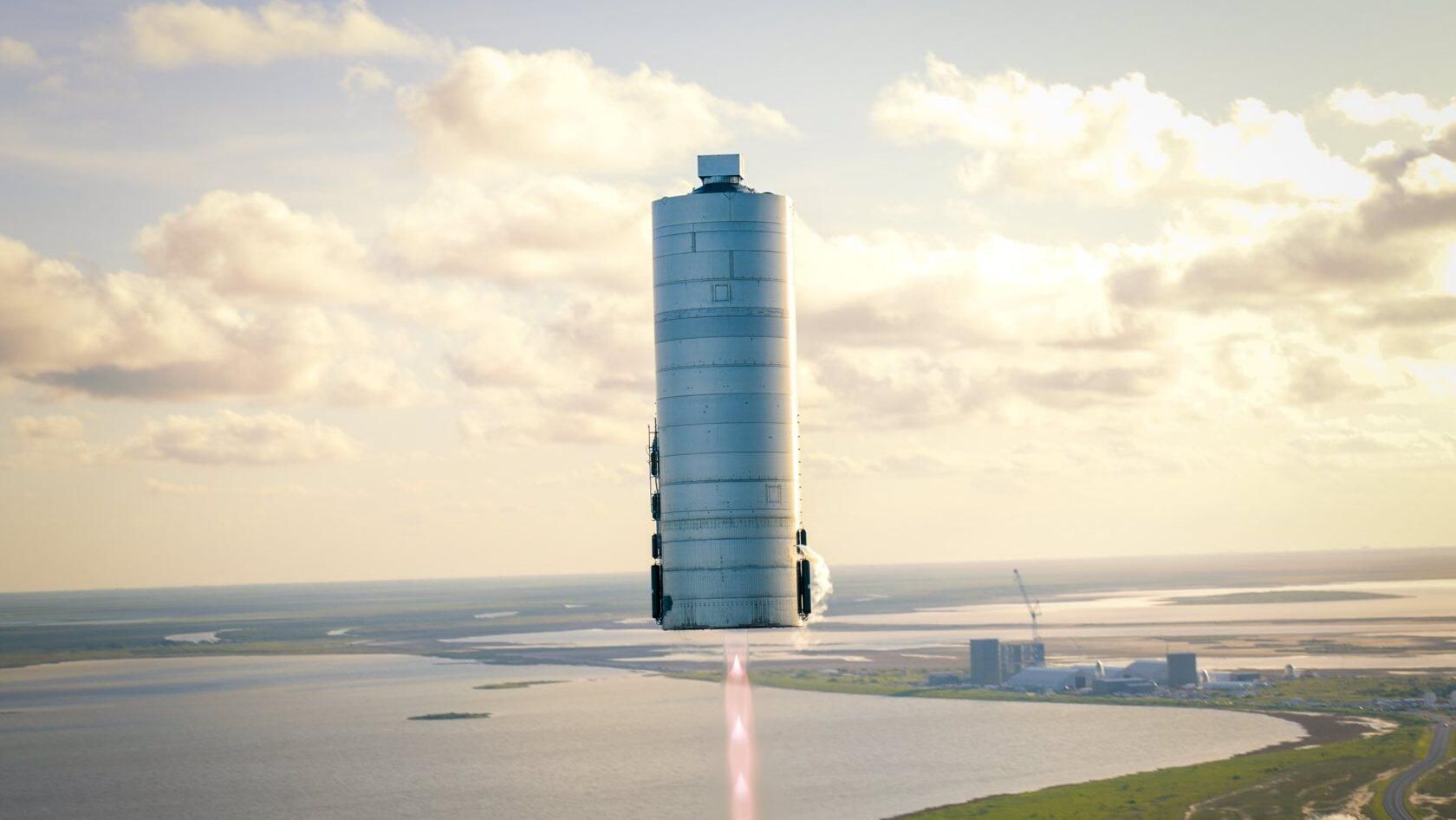 "SpaceX hopes to "" jump in "" to another prototype of the Starship today"