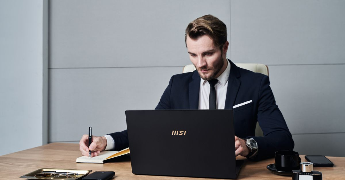 MSI's Summit Series are small business laptops for remote workers