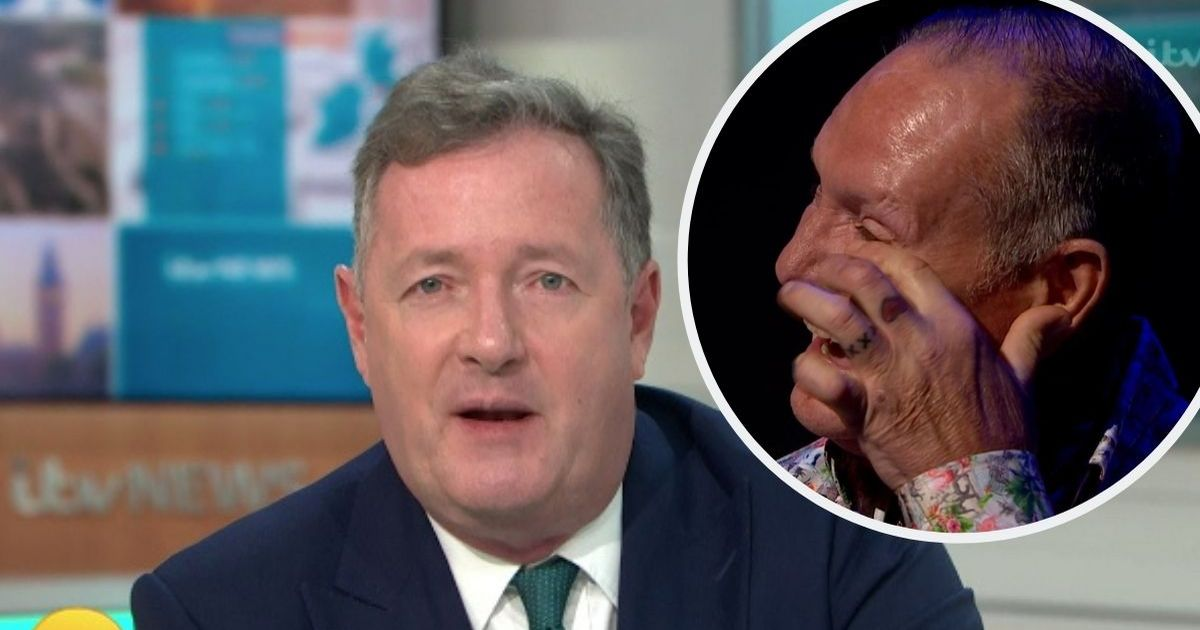 Piers Morgan blasts thieves who broke into Paul Gascoigne's home