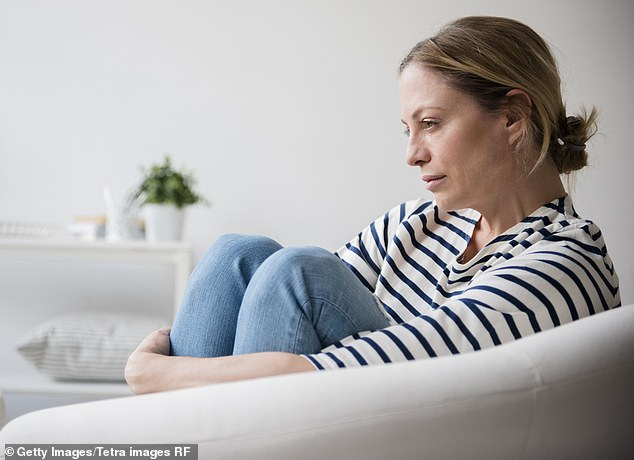 Experts believe that the hearts of people with depression may have to work harder because their chronic stress or anxiety means they are always in a low-level state of