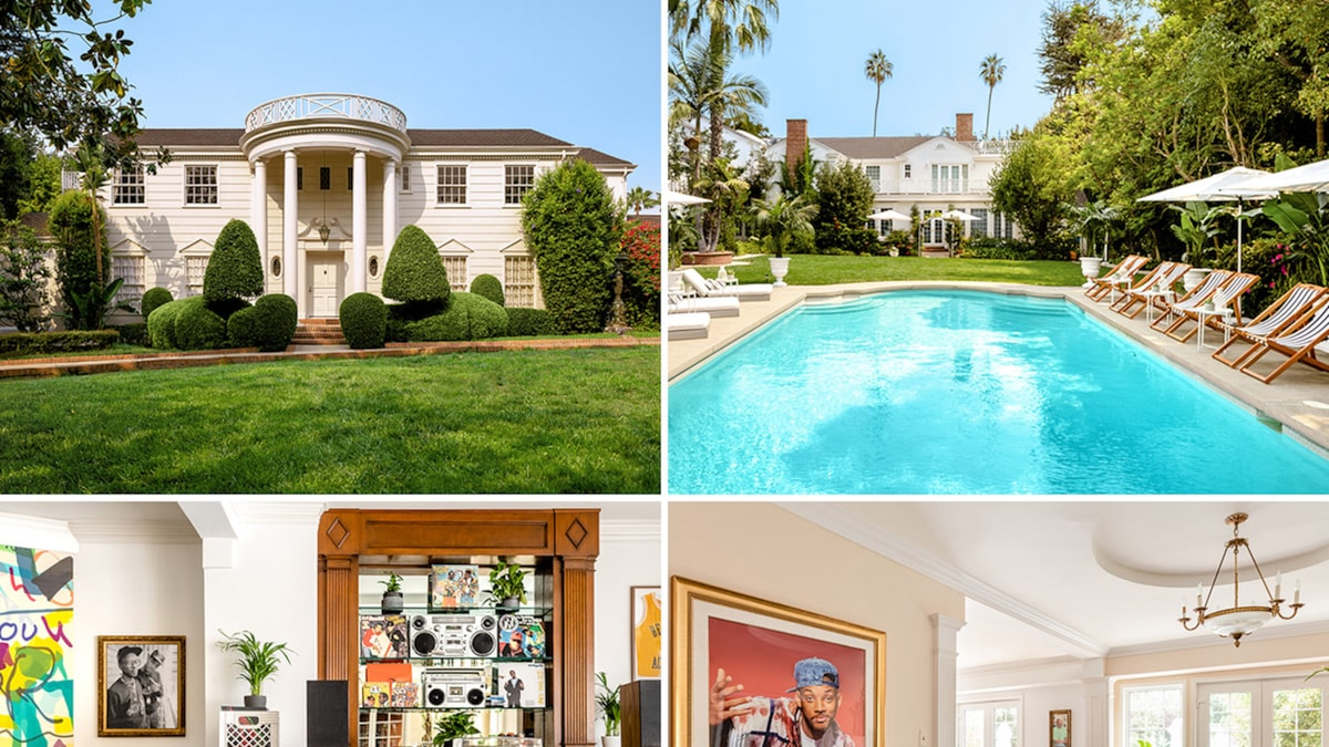 The mansion of the 'New Prince of Bel-Air' hits Airbnb for royal residences