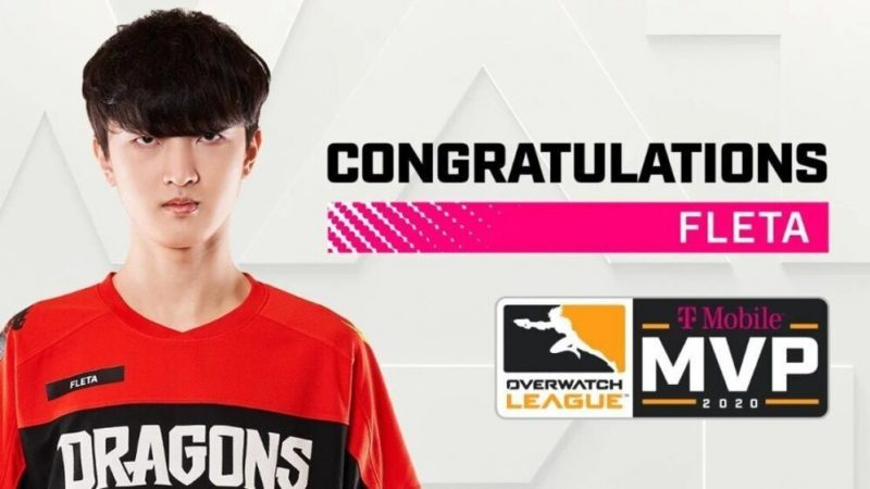 Shanghai Dragons Fleta team win the 2020 T-Mobile Overwatch League