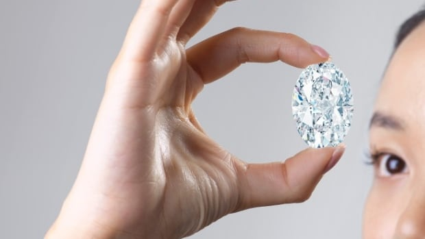 The rare 102 carat Canadian diamond at this month's auction may be among the most expensive in the world