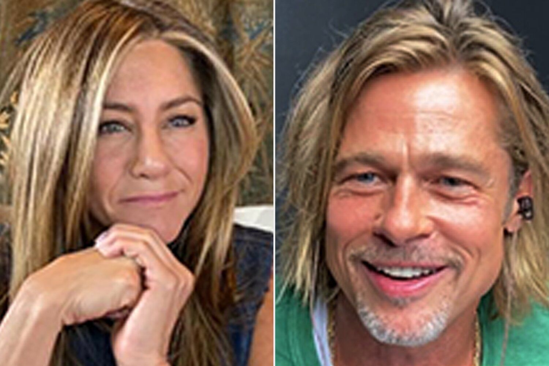 Brad Pitt and Jennifer Aniston reunite on Fast Times at Ridgemont High Read – including a steamy scene