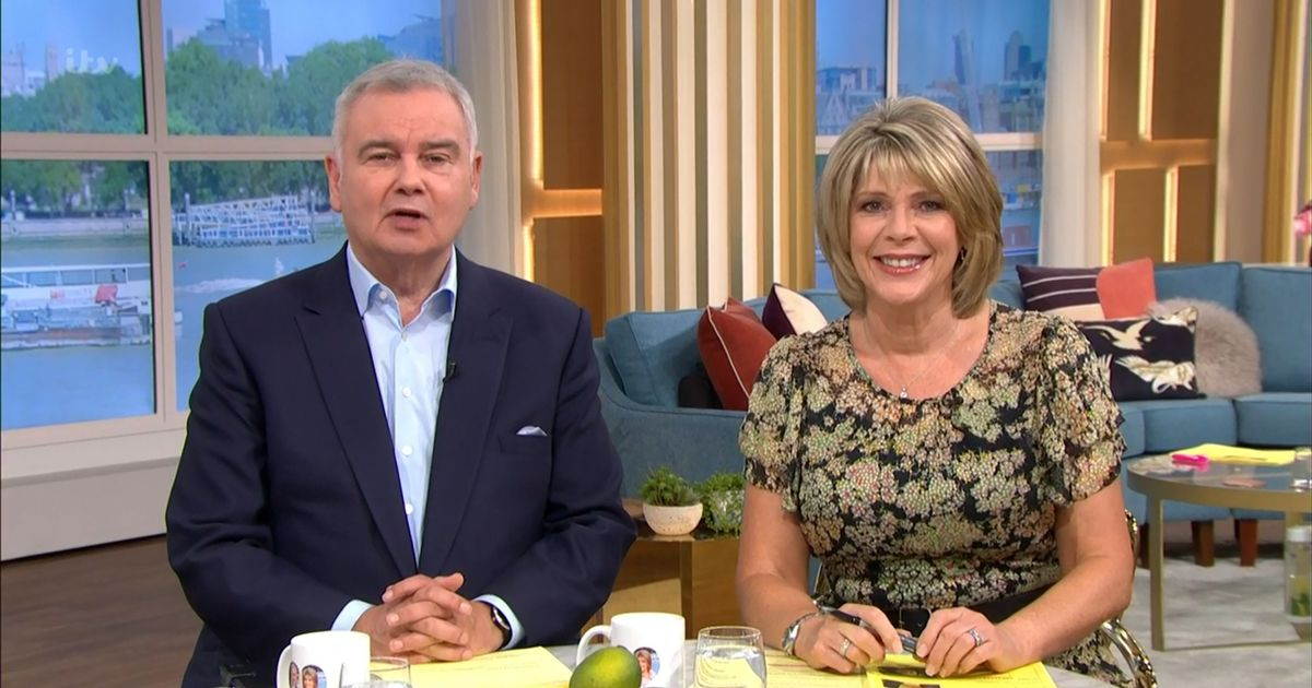 Eamon Holmes and Ruth Langsford fear that they will be taken off this morning